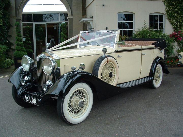Vintage 20-25 Rolls-Royce Convertible
