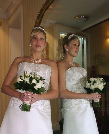 Bride looking gorgeous