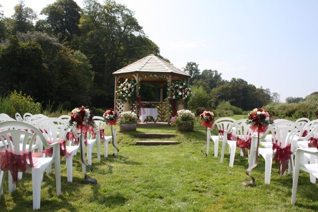Outdoor ceremony packages