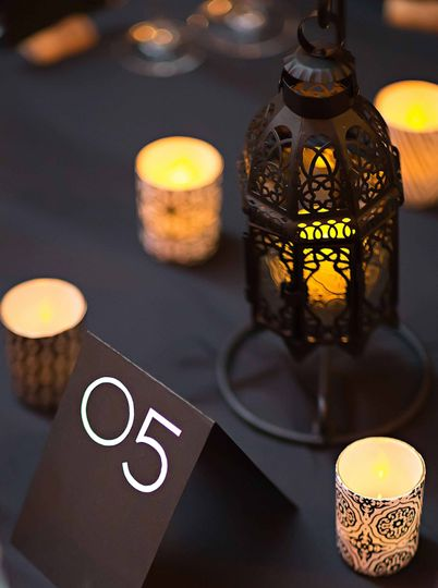 Sample Wedding Table