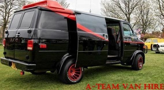 A Team van hire