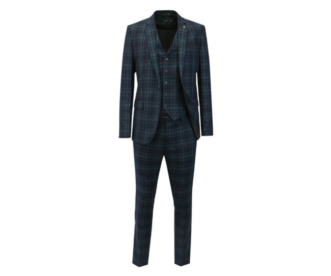 Check Suit 2 or 3 piece
