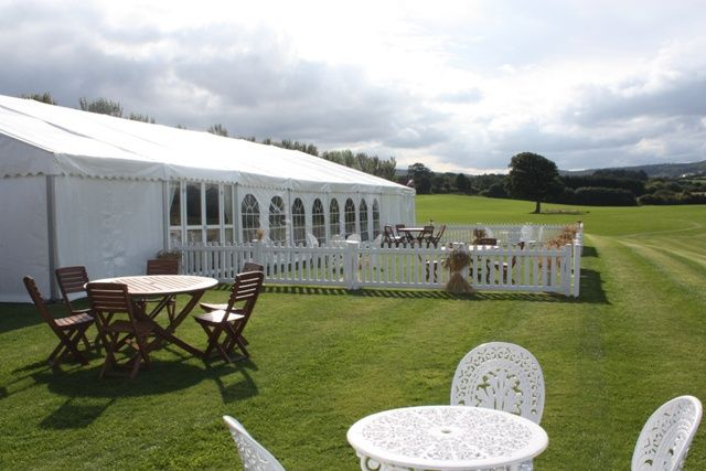 Marquee Hire in Somerset