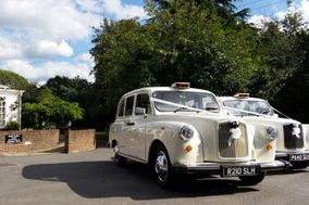 White London Taxis