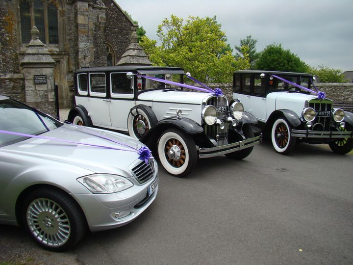 All 3 cars at Bickleigh