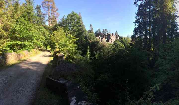 Dunans Castle & Telford Bridge