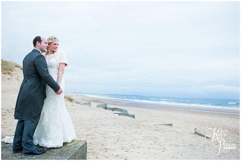 Druridge Bay post-wedding