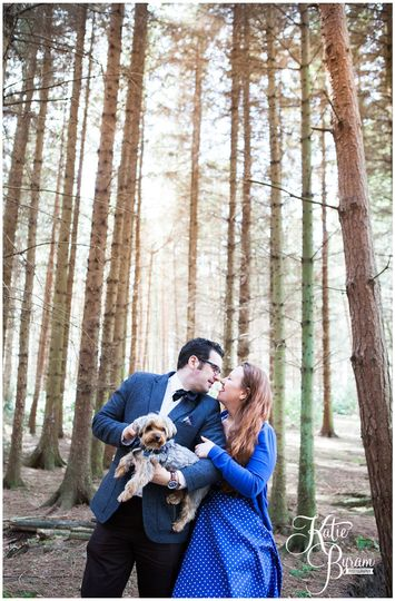 Minsteracres pre-wedding shoot