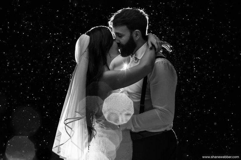 Rain Wedding Photo