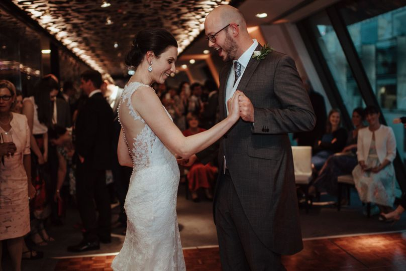 First dance in Angler