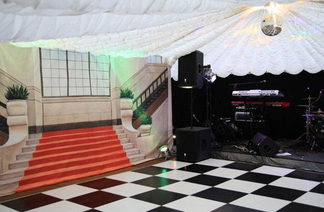Marquee dance floor