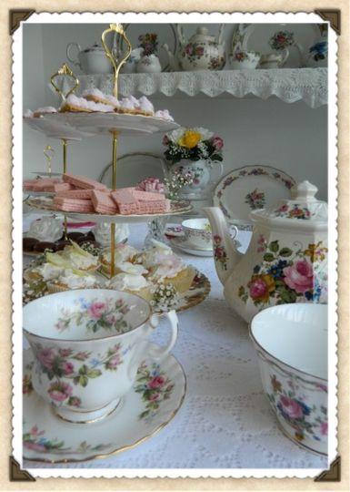 Vintage Girlie Tea Party