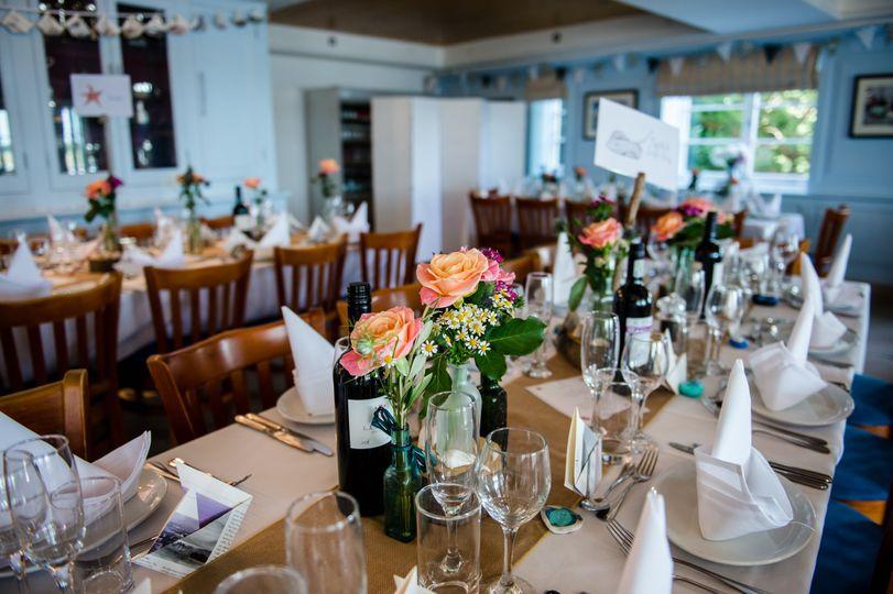 Tables set & ready