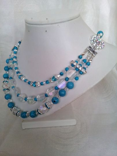 Vintage 50's style necklace