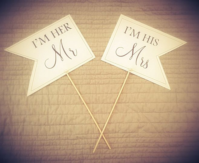 Signs for Photo's
