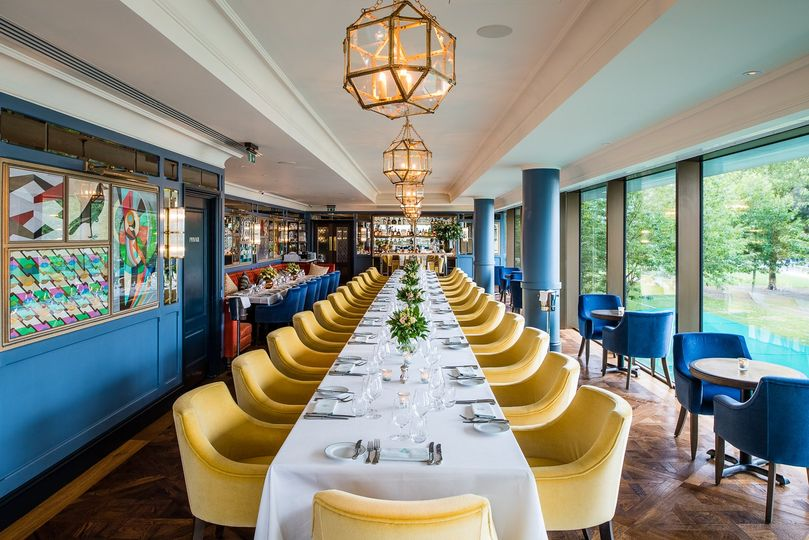 The ivy tower bridge for Best private dining rooms soho