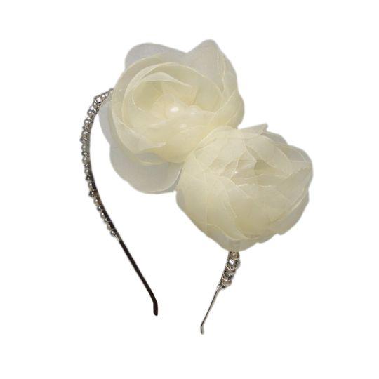 Double Flower Tiara