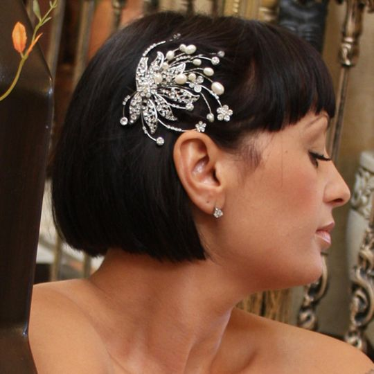 Modern wedding comb from AyeDo