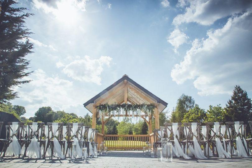Room One Wedding Gazebo