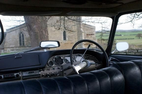 Interior of the Citroen