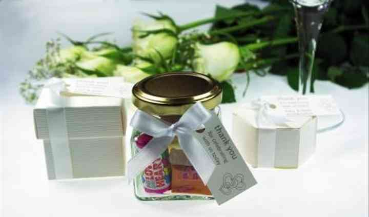 Personalised Wedding Favours