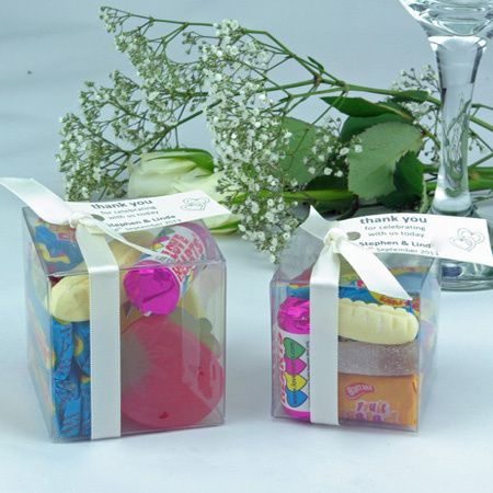 Personalised Sweet Cubes