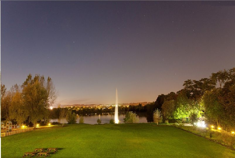 Lake and Lawns