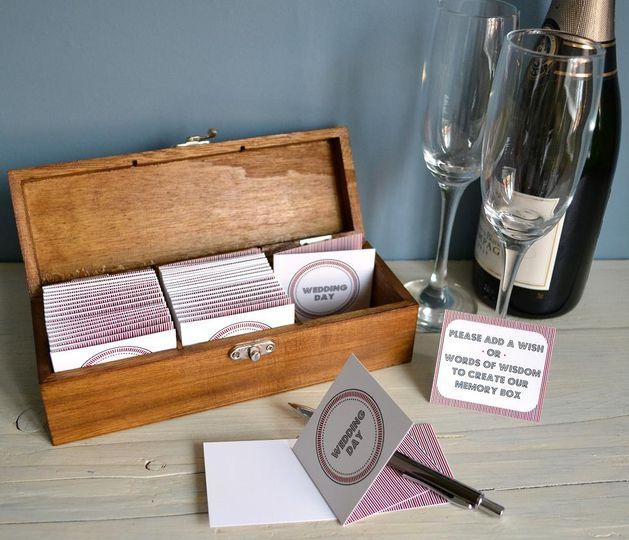 Medium Wedding Memory Box