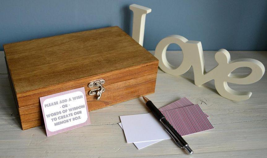 Large Wedding Memory Box