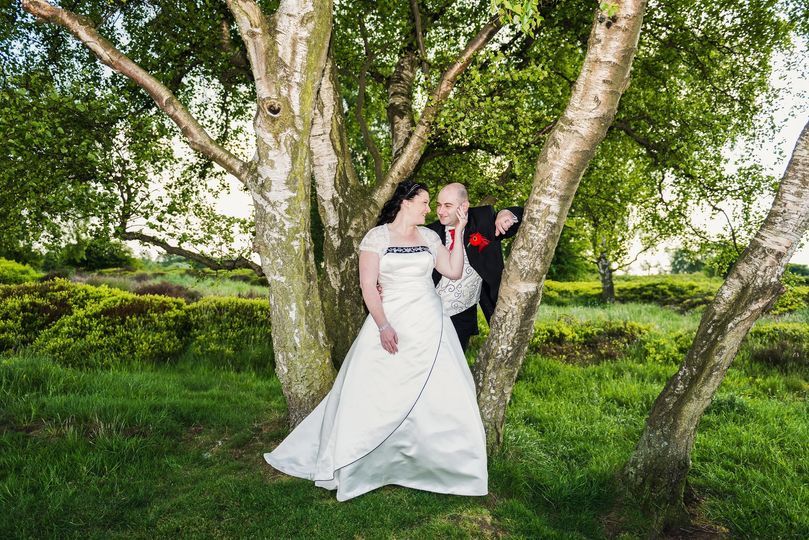 Cannock Chase Wedding Portrait