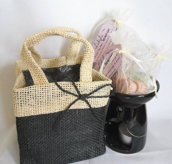Gift Bag set - Black