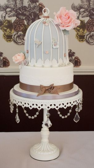 wedding cakes east lancashire birdcage cake from karenanna photos 24241