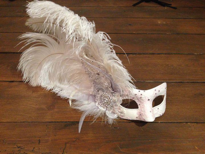 Custom Lace Bridal Mask