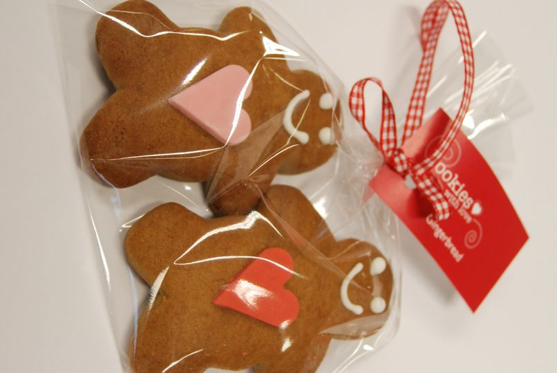 Gingerbread girl & boy cookies