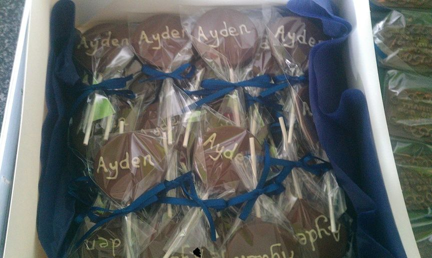 Personalised lollies