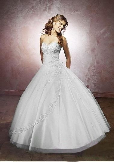 200 pounds - dress from The Perfect Bride Online | Photos