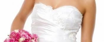 Wedding day tan