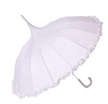 Pagoda ivory umbrella