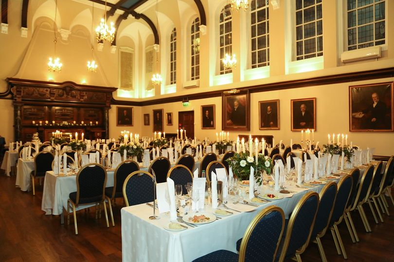 College Hall - long table