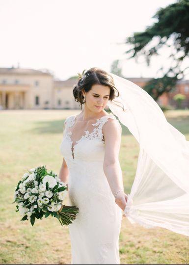 Bridal portraits.