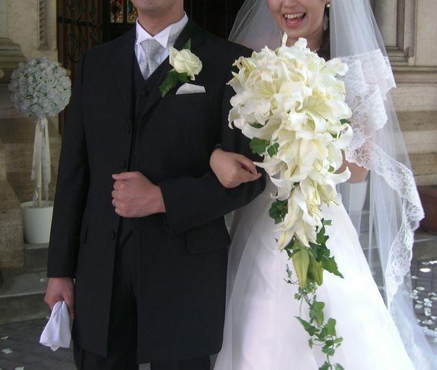 Bride bouquet in Rome
