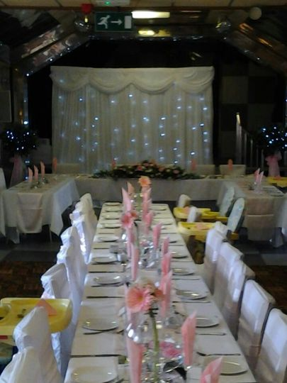 Starlight Curtain hire
