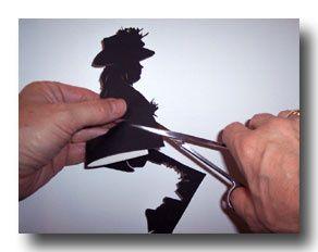 Cutting a silhoeutte