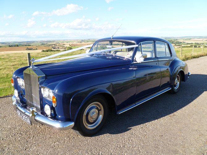 1963 Rolls Royce Silver Cloud III side view