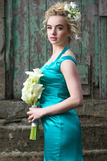 Calla lily bridesmaid