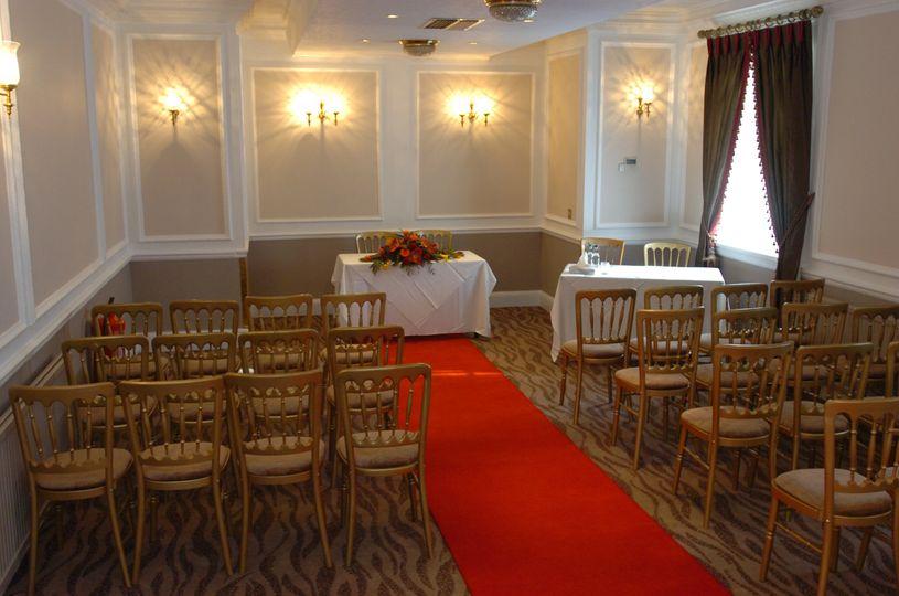 Catherine Suite for civil ceremony