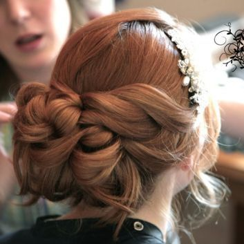 Bridal hair by Beauty Call