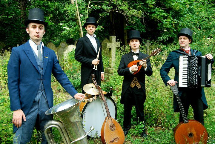 Victorian style musicians