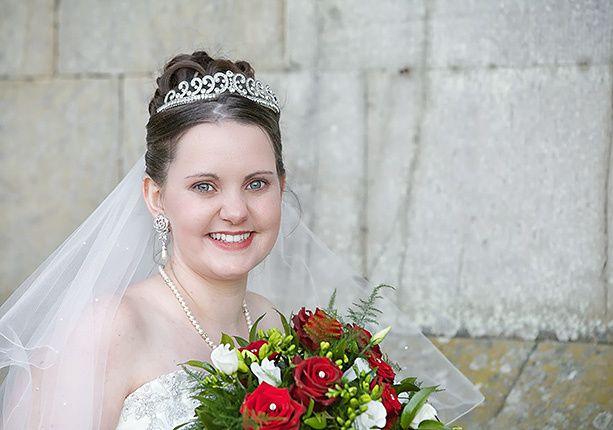 The bride's day