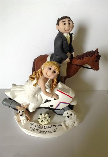 wedding cake toppers personalised uk mr amp mrs leadbitter from personalised cake toppers by 26573
